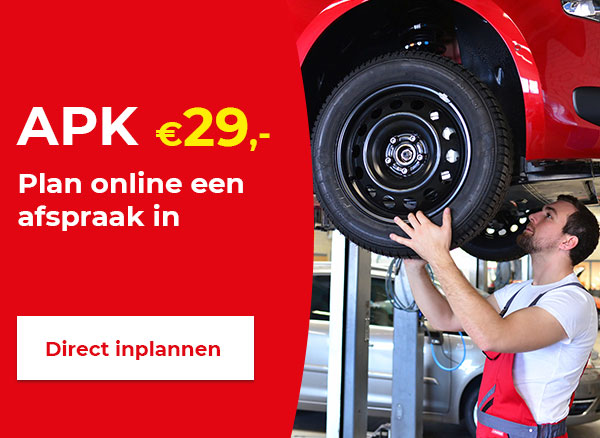 Direct APK inplannen!