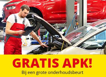 Je auto laat je gratis keuren bij De Sprint!